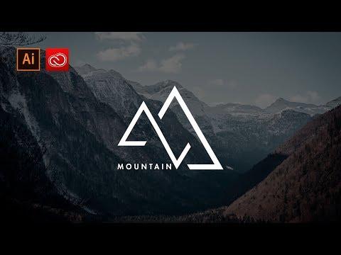 How to design a logo in illustrator cc | Logo Design process | triangle logo design