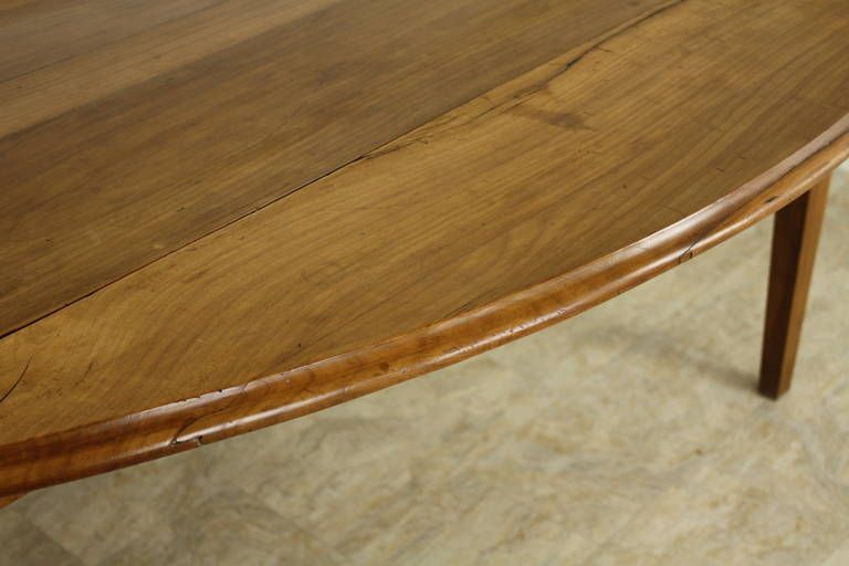 Excellent Large Cherry Drop Leaf Dining Table 1stdibs Com Drop