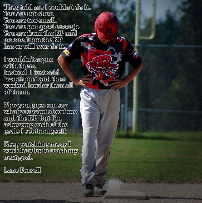 baseball, inspirational quotes, renegades baseball academy