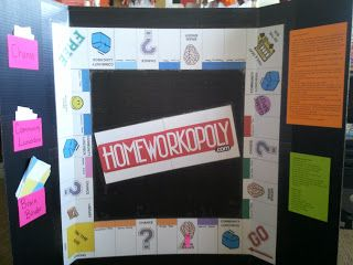 Cookin' Up Fun With Middle School Math: Homeworkopoly