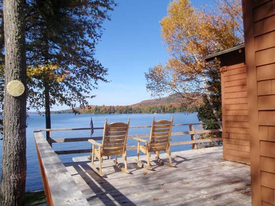 Maine Lakefront Cabin Rental In New England On Moosehead Lake