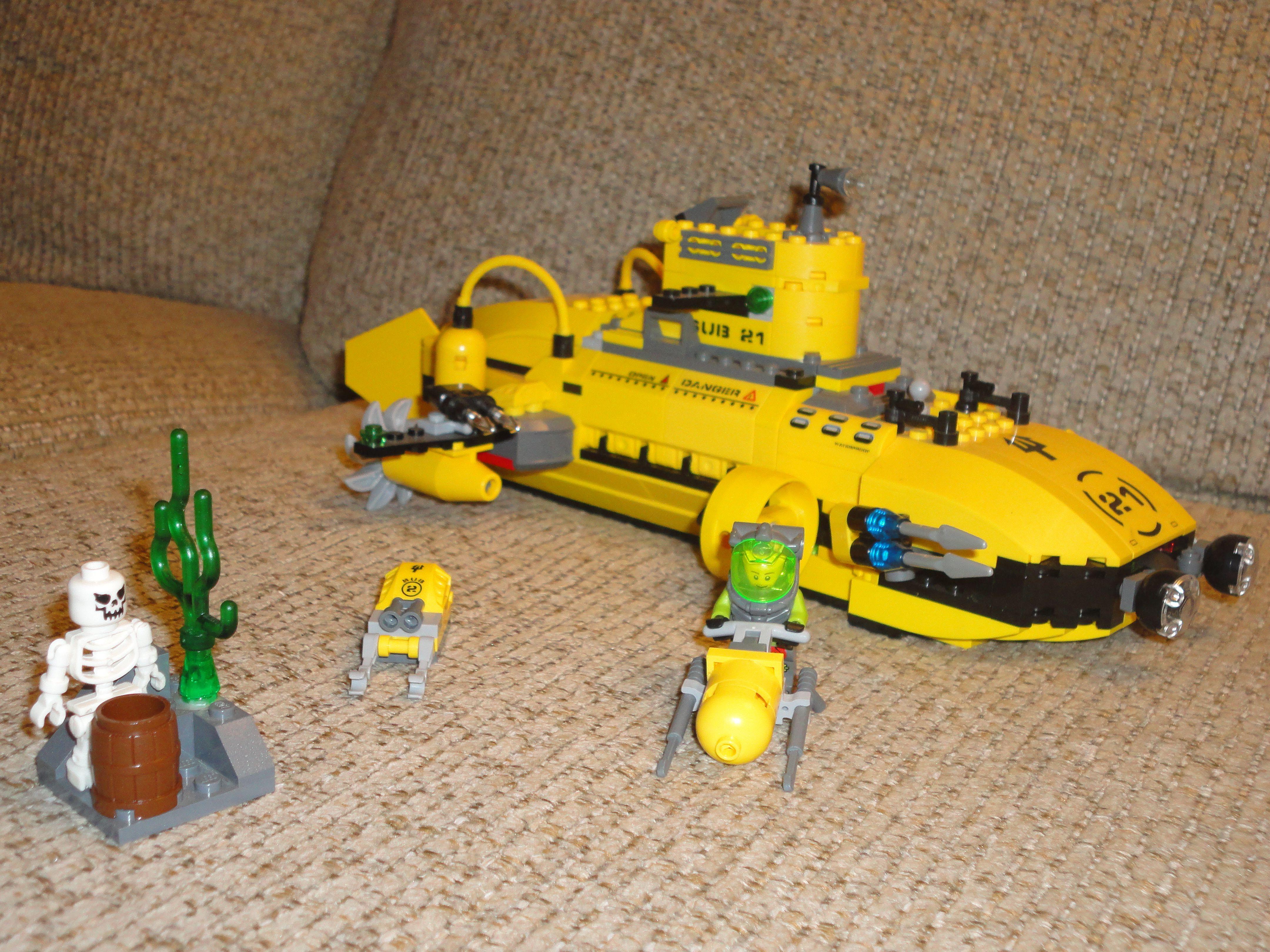 Lego Submarine Lego Submarine Cool Lego Lego City