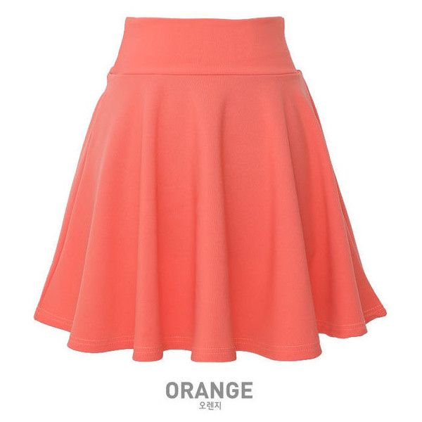 Elasticized Skater Skirt ($18) ❤ liked on Polyvore featuring skirts, lullabies, pink, pink skater skirt, elastic waist skirt, pink skirt, red circle skirt and red skirt