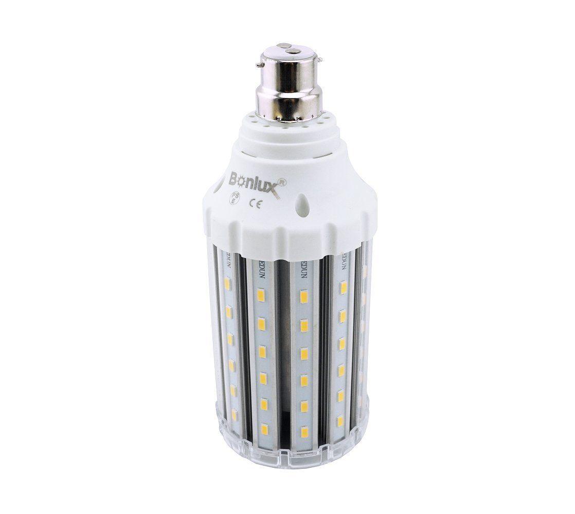 bonlux 30w bc led corn lamp cool white 6000k 250w equivalent bayonet b22 led retrofit light