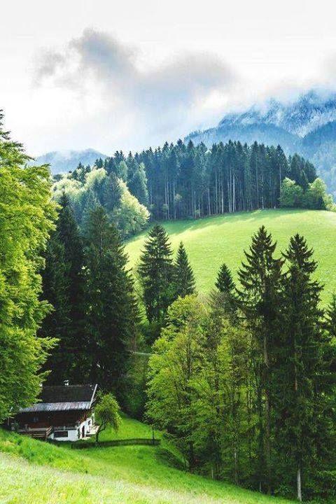 Mountain Valley, Tyrol, Austria