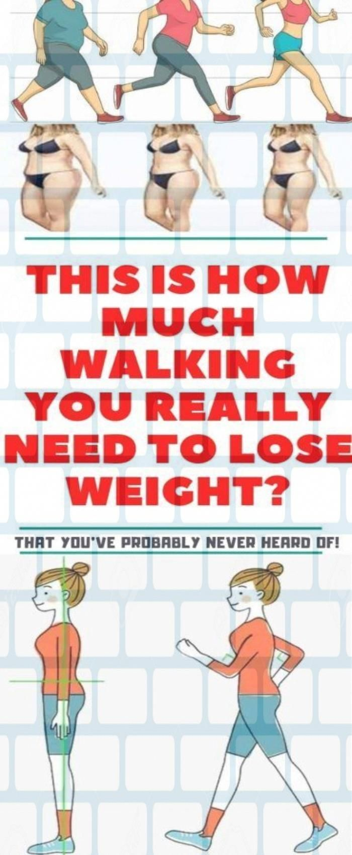 A. Want to know more about WALKING LOSE WEIGHT This is how.  Amazing. #diy #Fitness