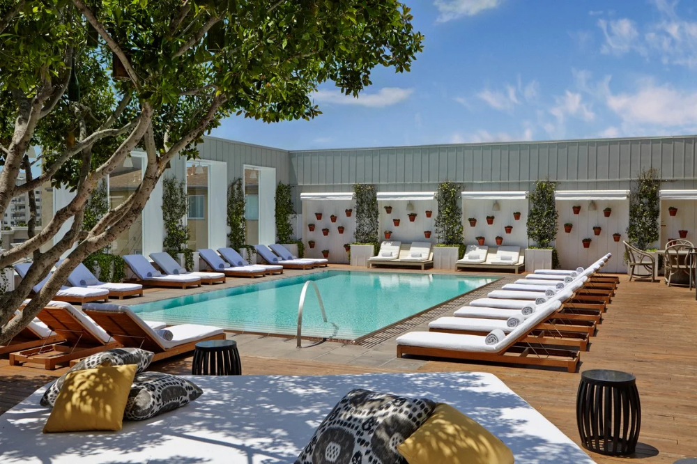 Mondrian Los Angeles Los Angeles California United States Hotel Review In 2020 Los Angeles Hotels Hotel Pool Pool