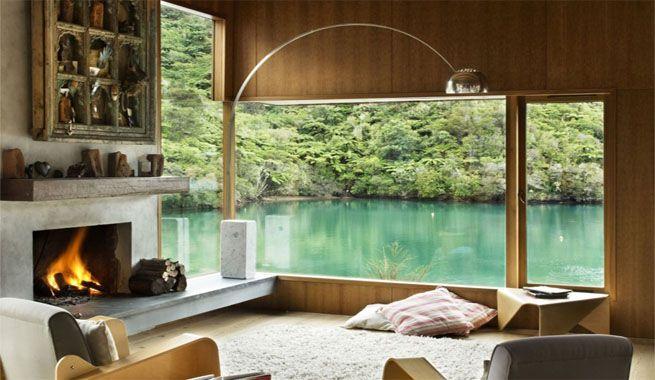 casas en el mar de cristal - Buscar con Google Living room