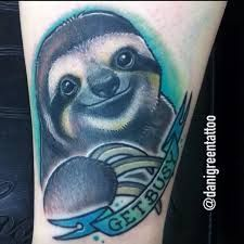 Image result for sloth tattoos