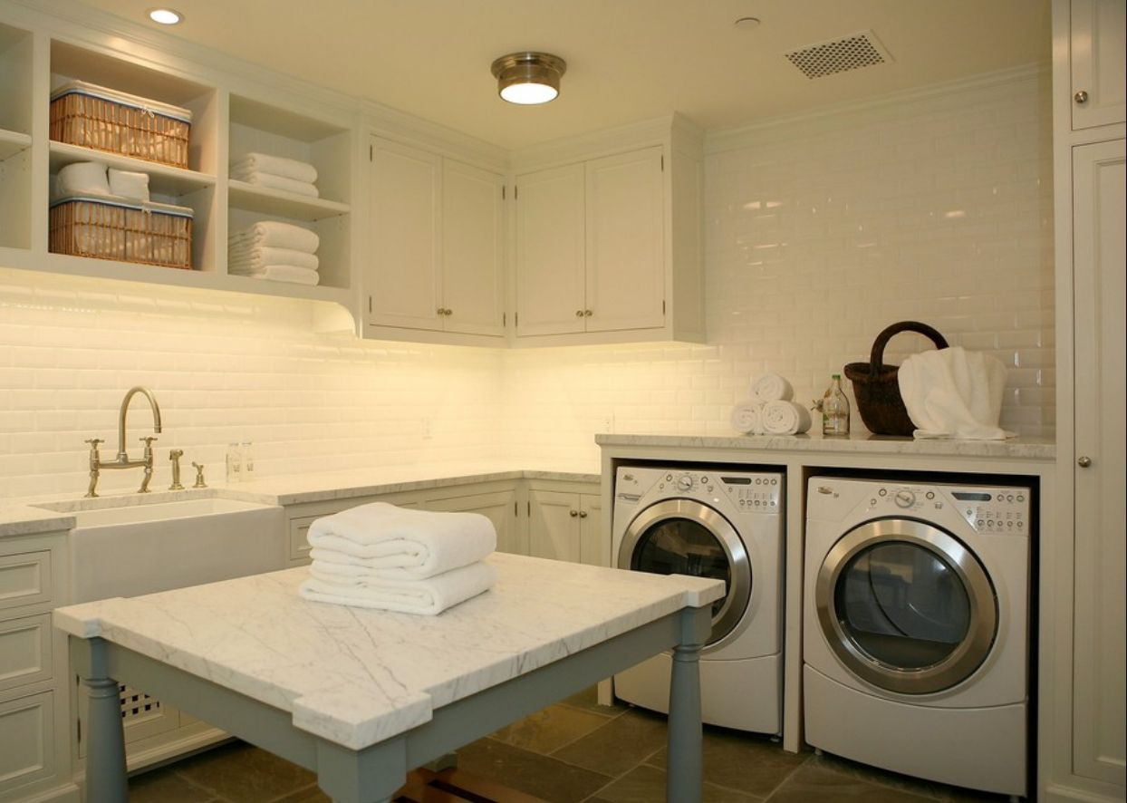 traditional-laundry-room-7 | Good to know! | Pinterest | Laundry ...