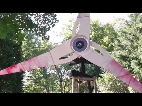 How to build a simple homemade wind generator from old ceiling fan how to build a simple homemade wind generator from old ceiling fan microwave oven parts old tv antenna and other free junk page 2 of 2 practical aloadofball Images