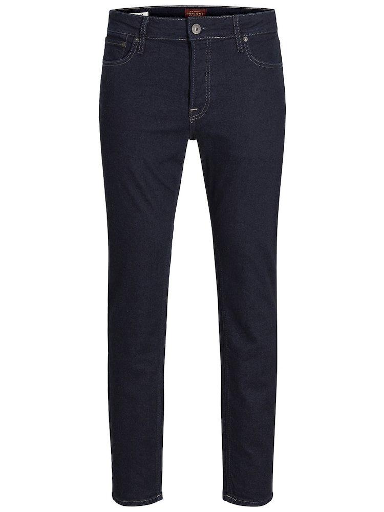 JACK & JONES TIM ORIGINAL JOS XXX Slim Fit Jeans Herren, Dunkelblau, Größe 33 #schooloutfit