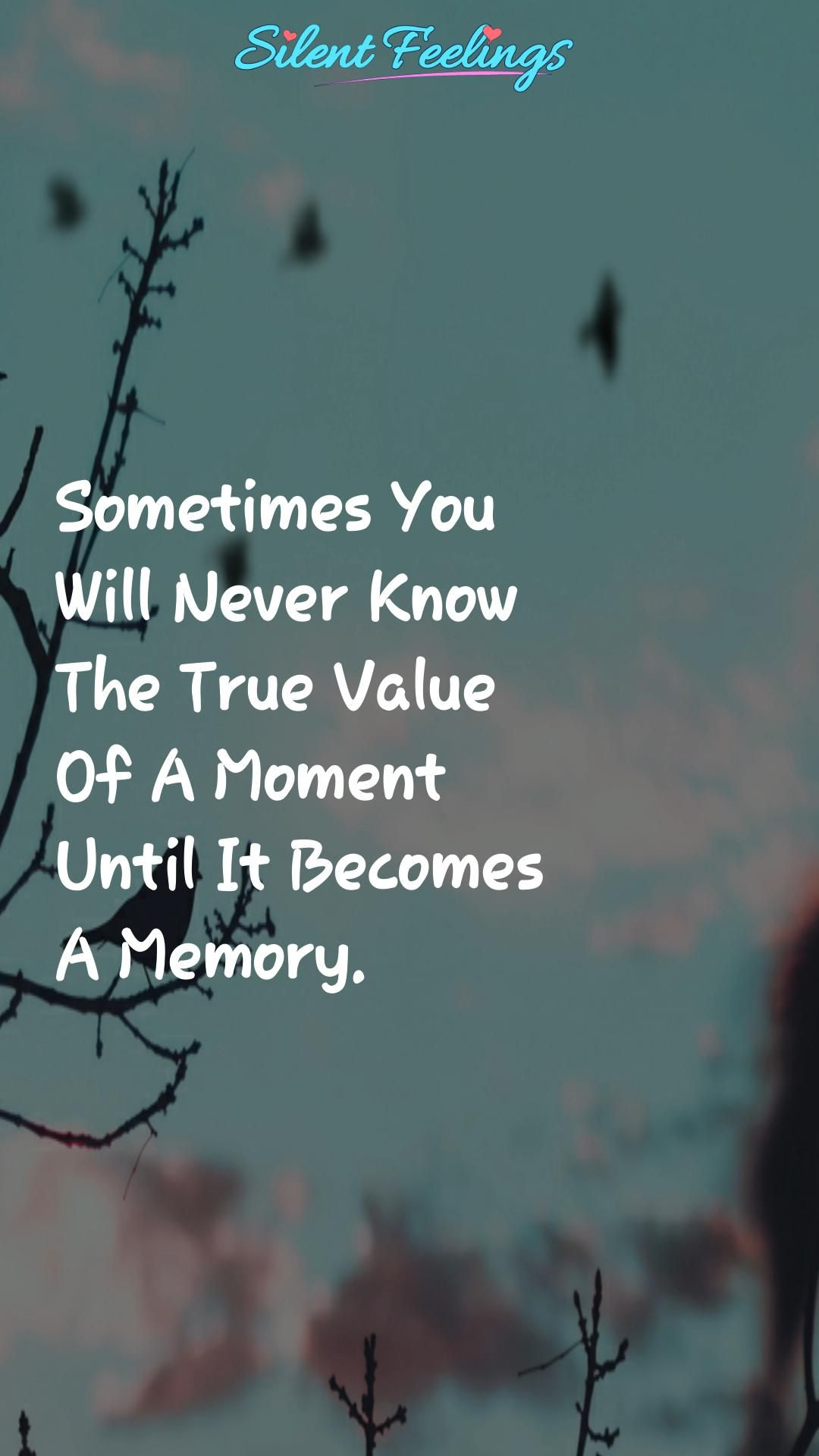 Sometimes You Will Never Know Love Quotes Videos Silent Feelings Video Life Quotes Love Quotes For Him New Relationship Quotes