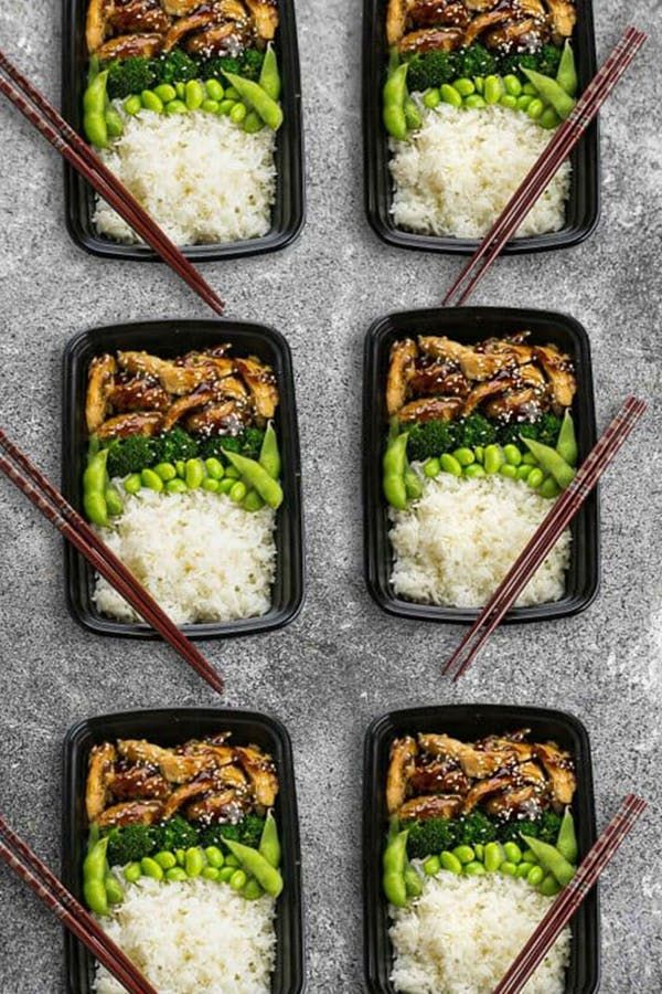 19 Easy Meal Prep Lunches Under 400 Calories #400caloriemeals
