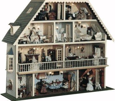 Modellismo casa delle bambole miniatures pinterest for Costruire case