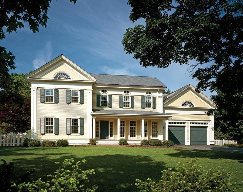 Rebuilding A Greek Revival House In Maine Greek Revival