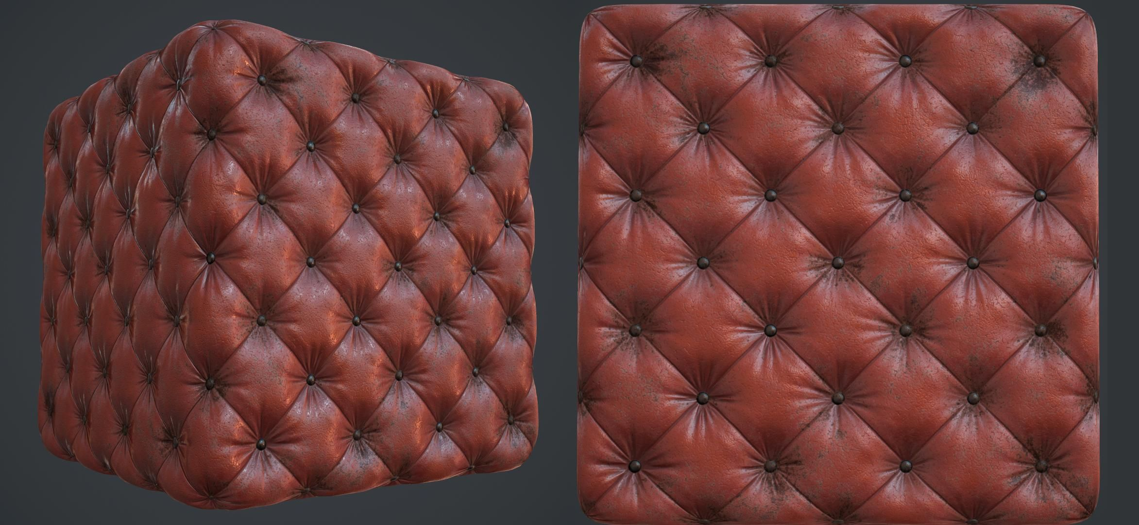 Leather cushion texture - Polycount Forum A Leather Cushion