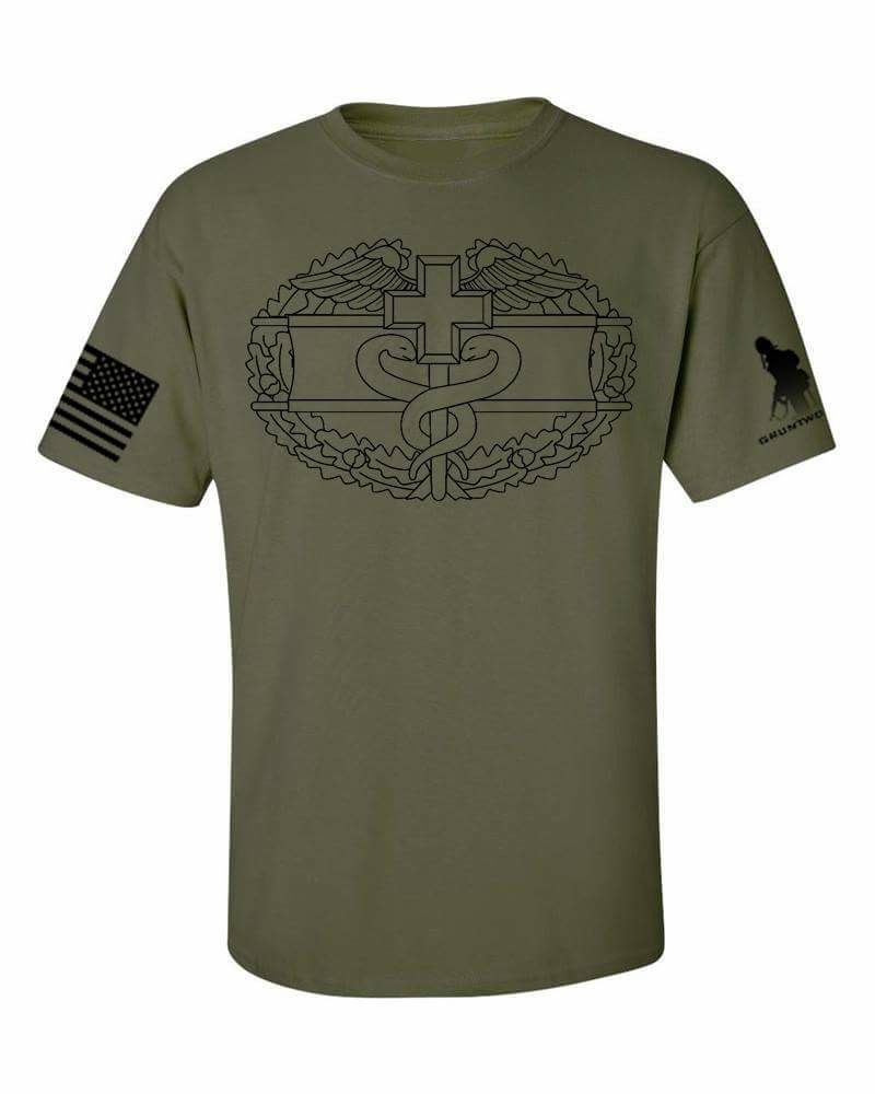 8bf30c6de0cf1 US Army Combat Action Medic Subdued T-Shirt | Gruntworks | Combat ...