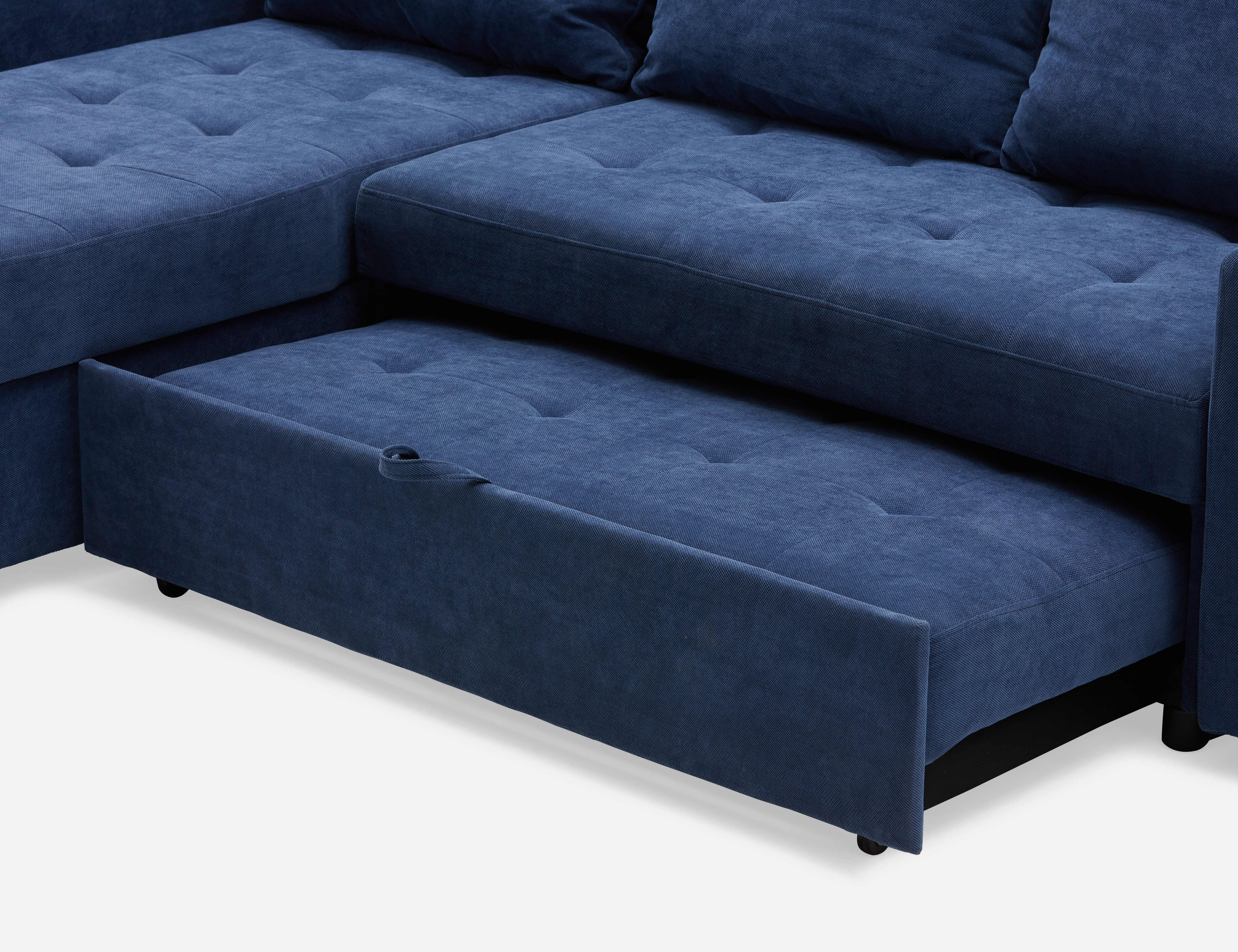Peachy Dark Blue Interchangeable Sectional Sofa Bed Structube Unemploymentrelief Wooden Chair Designs For Living Room Unemploymentrelieforg