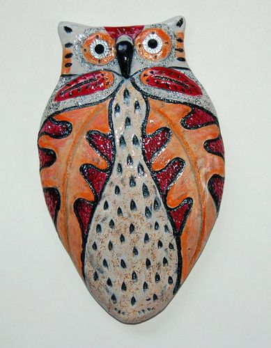 https://www.etsy.com/listing/171099794/snowy-owl-totem-christmas-ornament-4?ref=shop_home_active Owl ornament or wall hanging