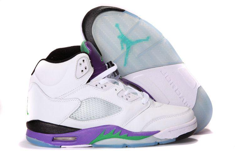 5d860b42584243 Authentic Cheap Air Jordan 5 Lastest purple blue white shoe jordan retro 5 v  for men