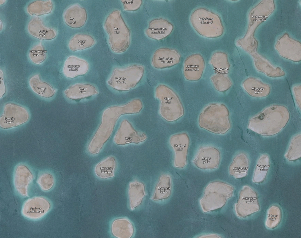 The world islands united arab emirates and archipelago the world islands united arab emiratesarchipelagodubaiislandsmap constructionbuildinglocation gumiabroncs Gallery