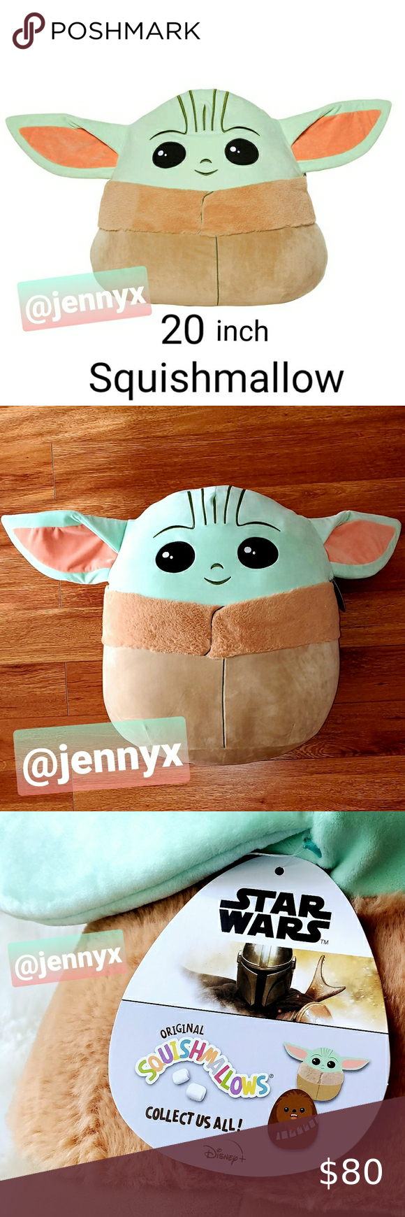 20in Squishmallow Baby Yoda The Child Star Wars Build A Bear Outfits Doll Sleeping Bag American Girl Clothes