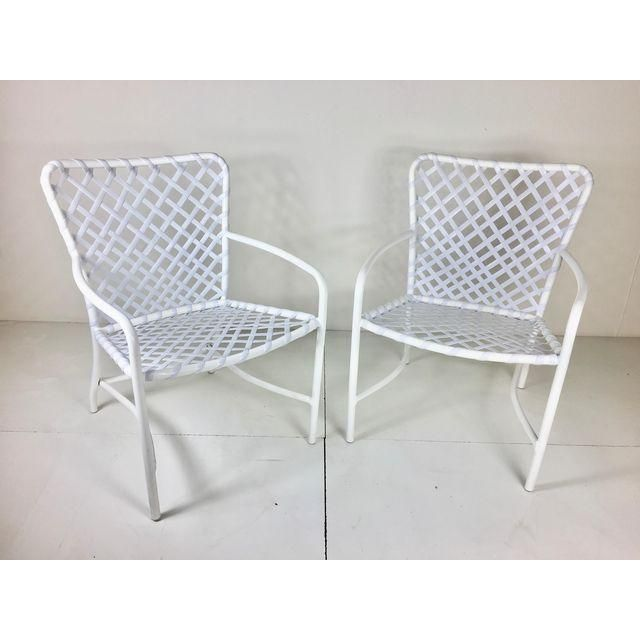 brown jordan tamiami dining chairs
