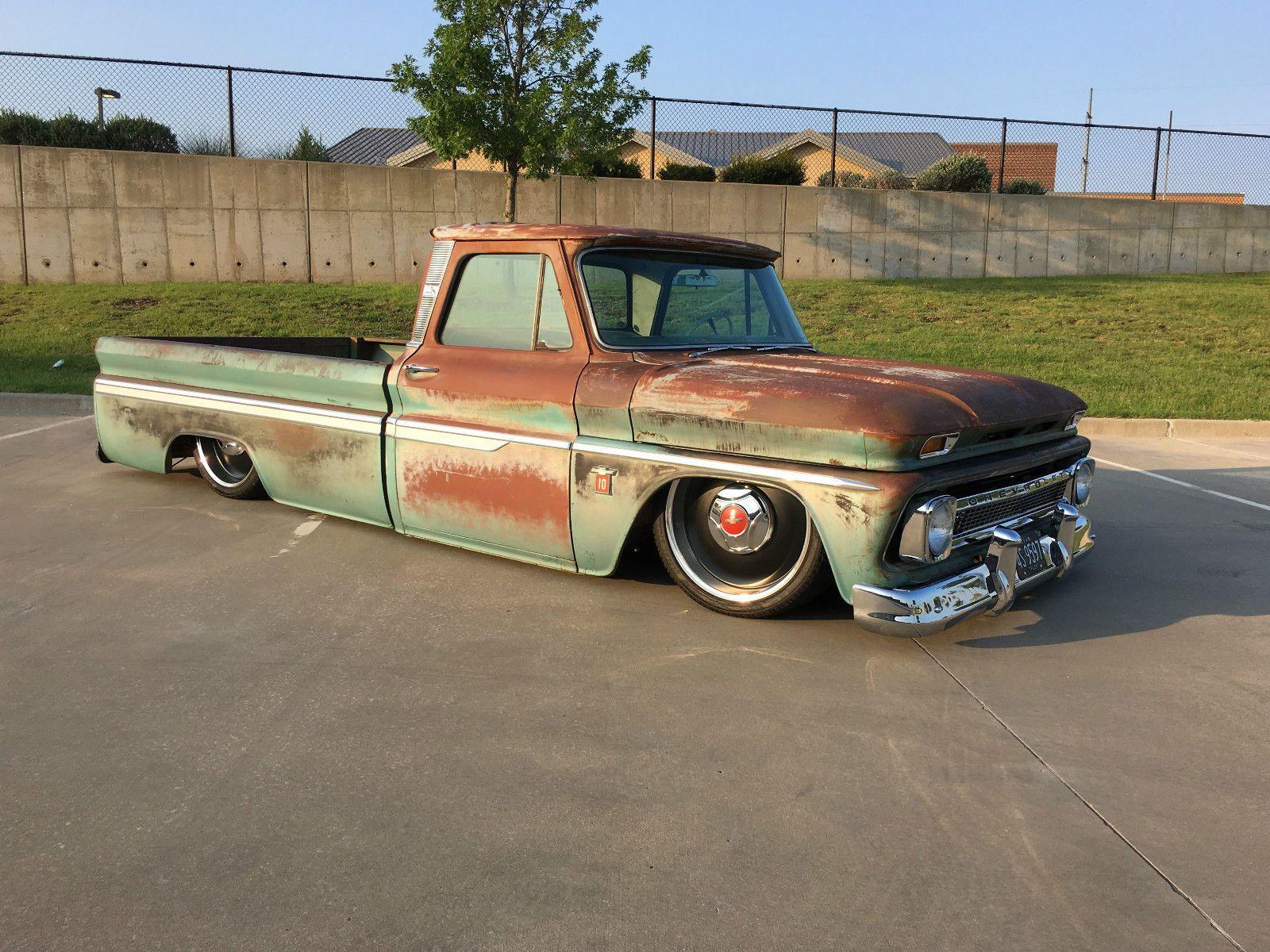 Chevrolet c 10 custom 1964 chevrolet c 10 patina truck 5 3 ls engine clean