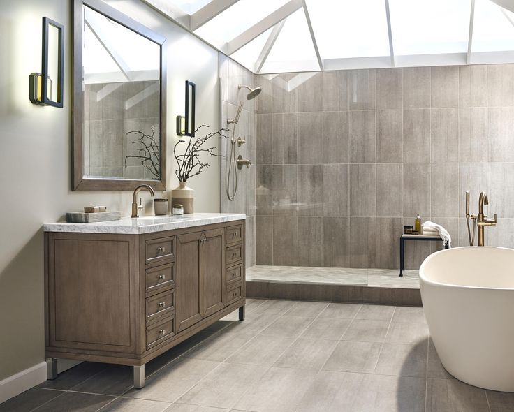 Bathroom Wall Floor Same Tile Bathroom Design Modern Bathroom Design Emser