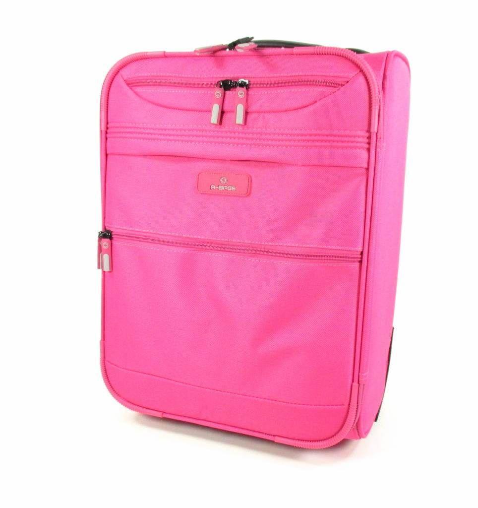 AdventureBags Cabinetrolley Kansas A-Bag PinkEen handige, trendy en compacte cabinetrolley met een ideale afmeting. Deze trolley kunt u bij de meeste vliegtuigmaatschappijen meenemen als handbagage (wij adviseren u om bij uw vliegmaatschappij altijd even te controleren wat de maten zijn). Dit gave-koffertje heeft een hoofdvak (30 liter) met daarin voldoende ruimte voor al uw spulletjes die u nodig heeft tijdens uw reis. In het hoofdvak zitten twee kleding riempjes. Aan de binnenkant van de…
