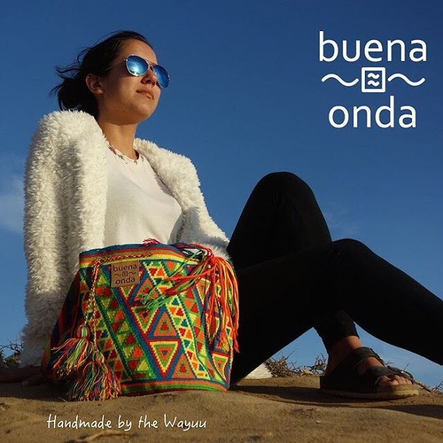 Buena Onda - BE ONE OF A KIND - @agendashow #agendashow #agenda #beoneofakind #oneofakind #wayuu #wayuupeople #wayuufashion #wayuumochilas #style #handmade #fairtrade #coolbags #boho #friends #lovelife ##buenaonda #beoneofakind #oneofakind #wayuu #wayuupeople #wayuufashion #wayuumochilas #style #handmade #fairtrade #the coolbags #boho #friends #lovelife #socialenterprise #colombia #laguajira #indigenous  #colombia #laguajira #indigenous @zoiewilson