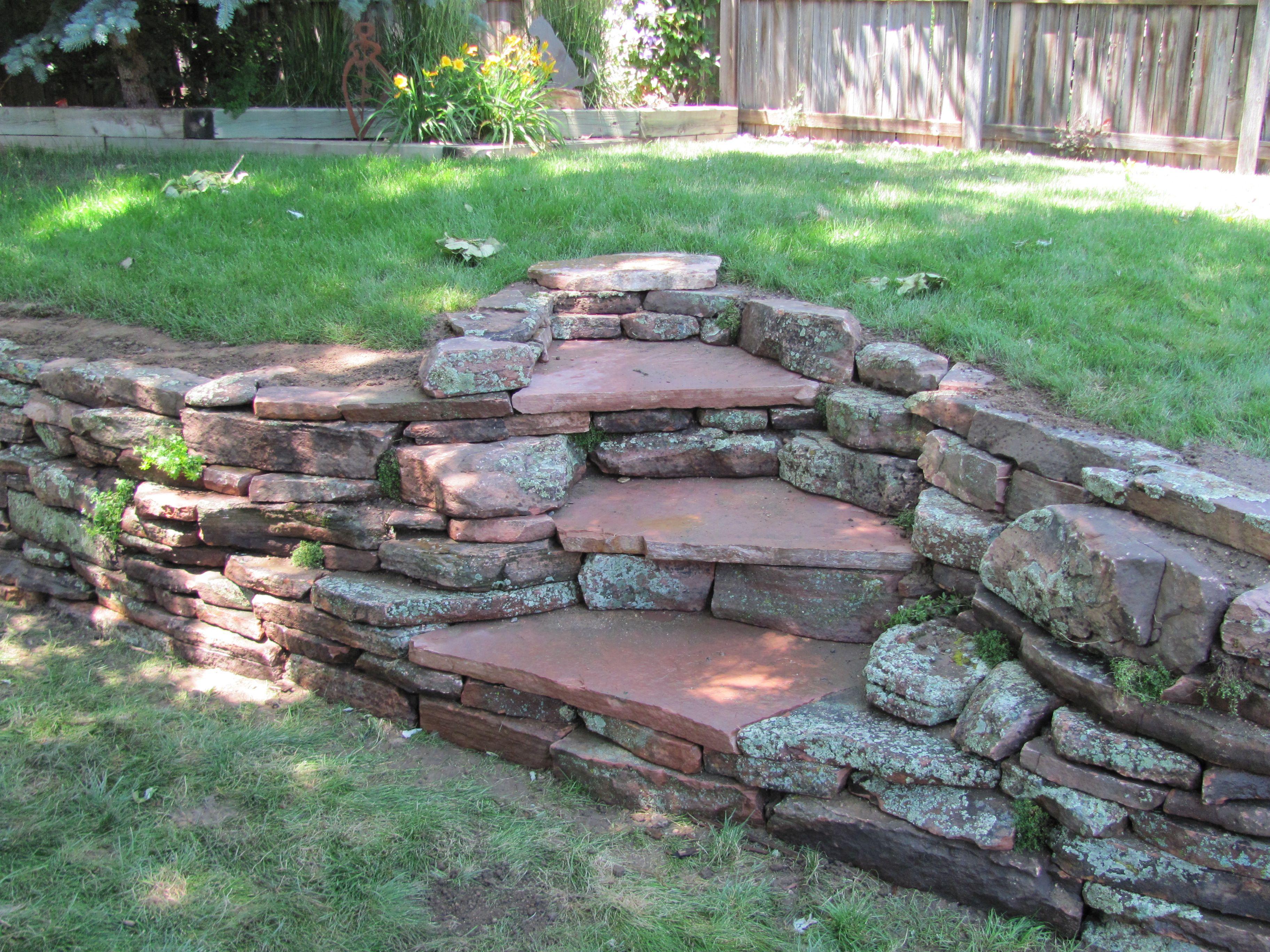 1000 Ideas About Rock Wall Landscape On Pinterest Tree