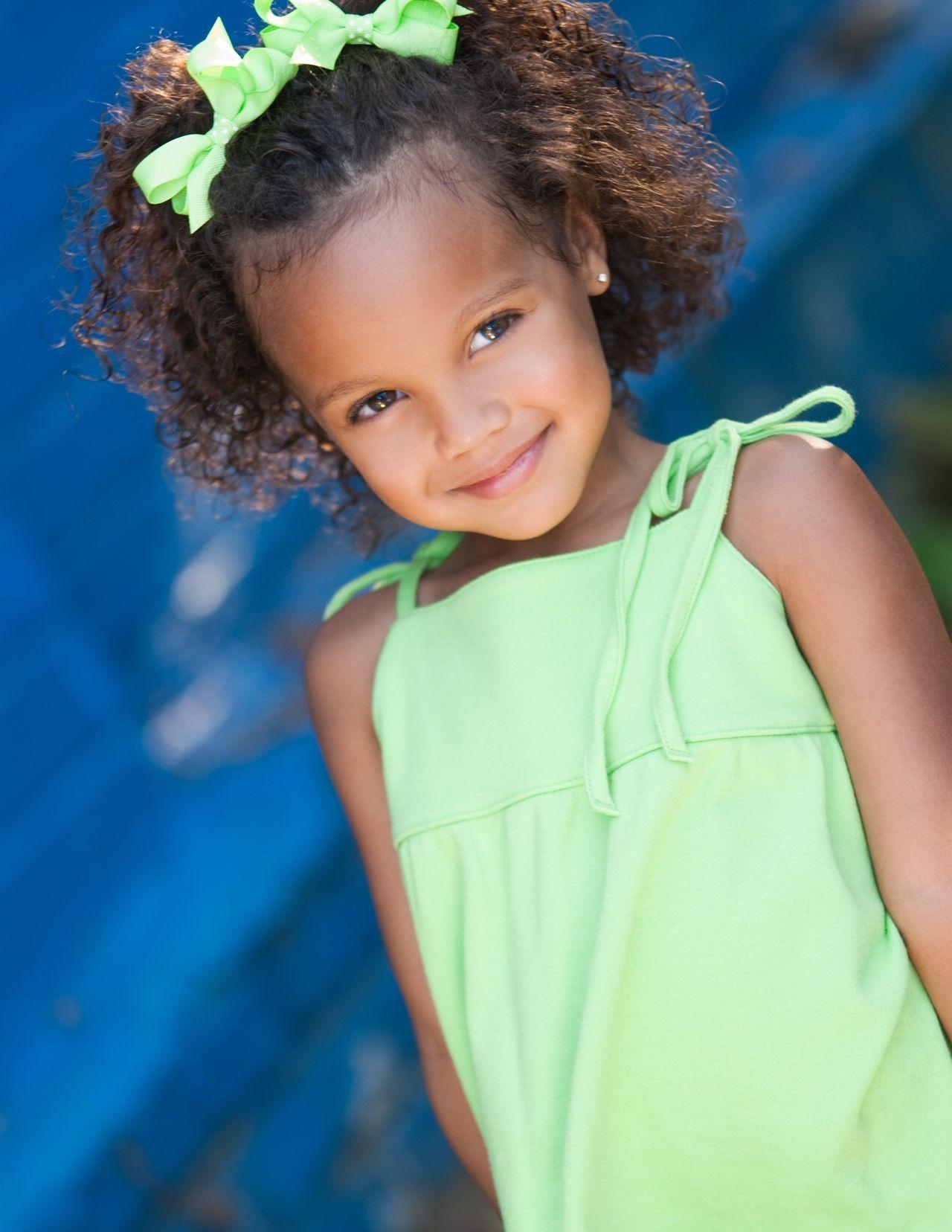 Precious Curls   Mixed kids hairstyles, Little girl ...