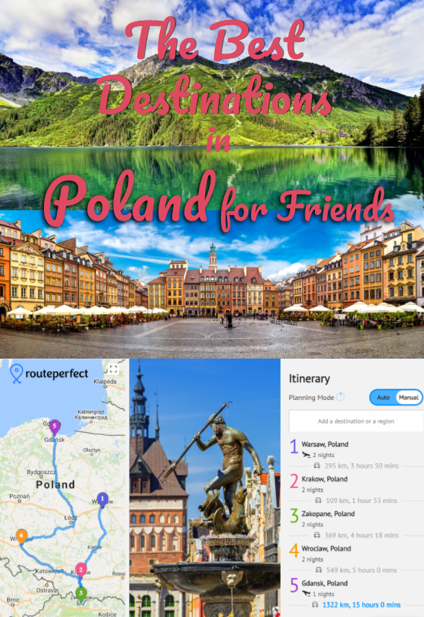 You're planning a European trip and you hardly know where to begin! Take a closer look at Poland, the perfect affordable country for a friend-trip! #adventure #budgettravel #eurotrip #poland #europe