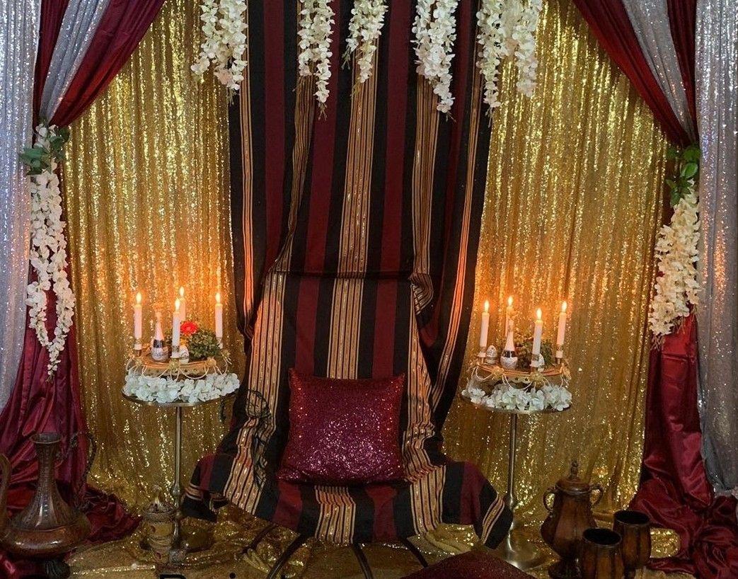 ديكور كوشه عروس ليله الحناء بلطراز اليمني التراثي الصنعاني الجميل Wedding Decorations Traditional Wedding Wedding