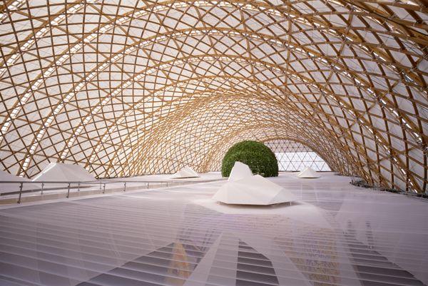 Japan Pavillion, Expo 2000 Hannover, Shigeru Ban