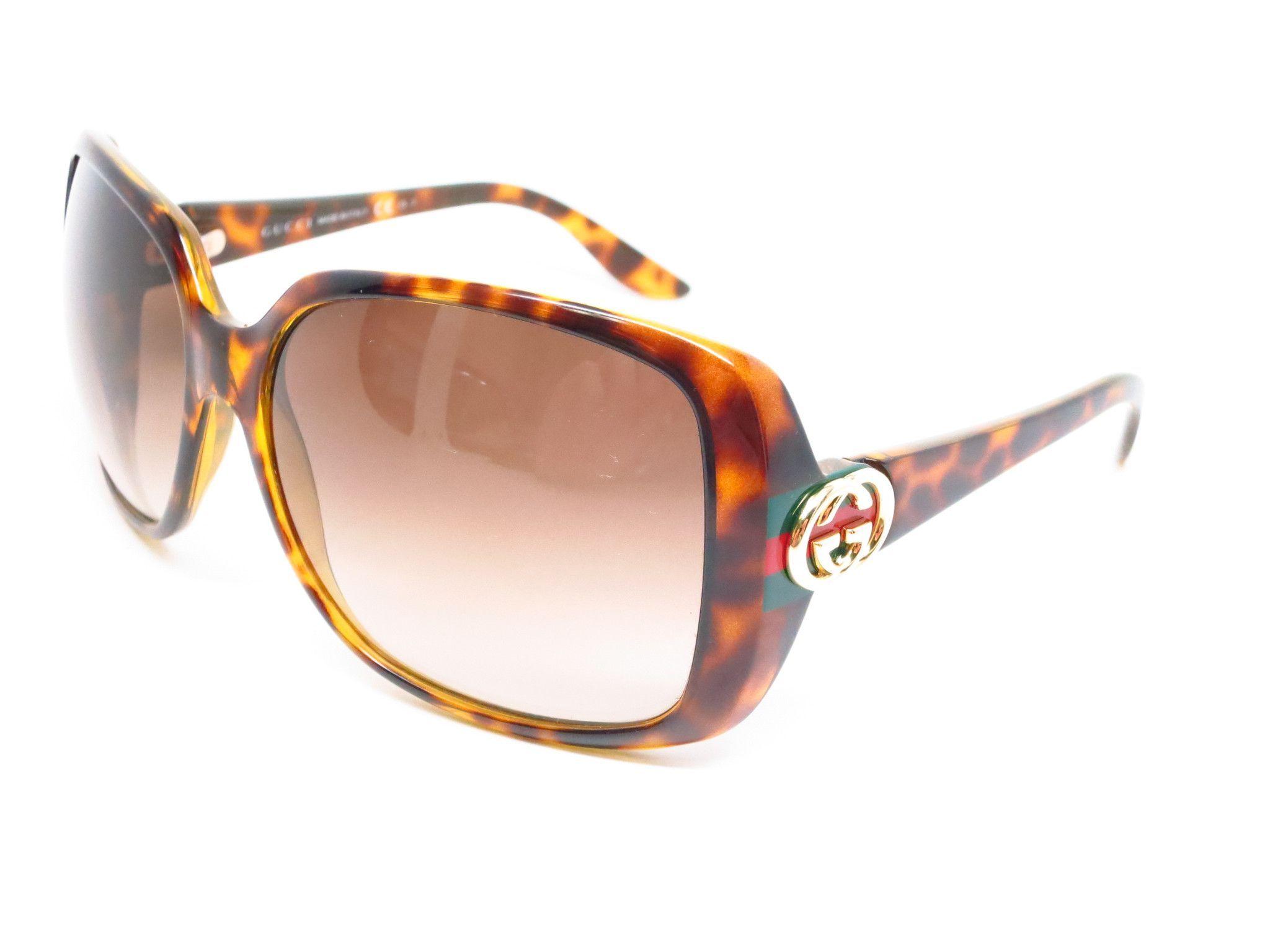 Gucci GG 3166/S OD9CC Tortoise Sunglasses