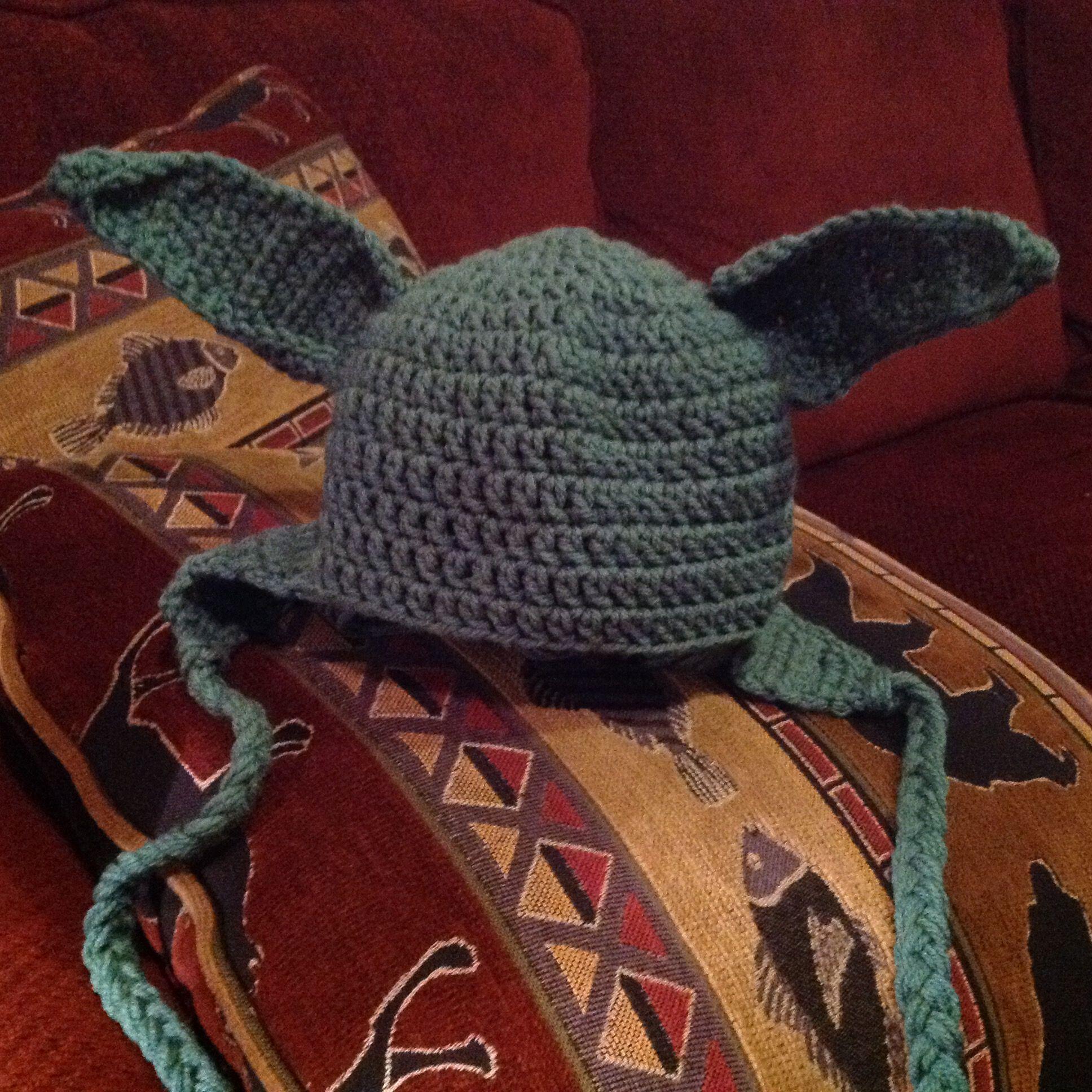 yoda hat for a child   Smocking, Hats, Knitting