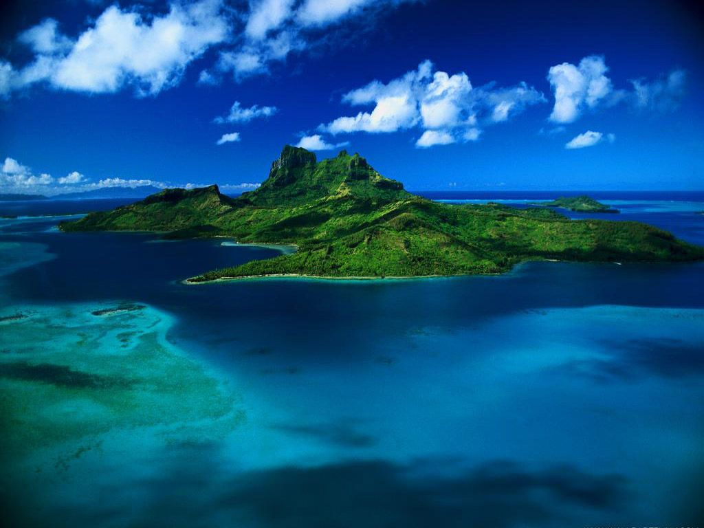 When Cruising The Remote French Polynesia Tahiti Islands In The