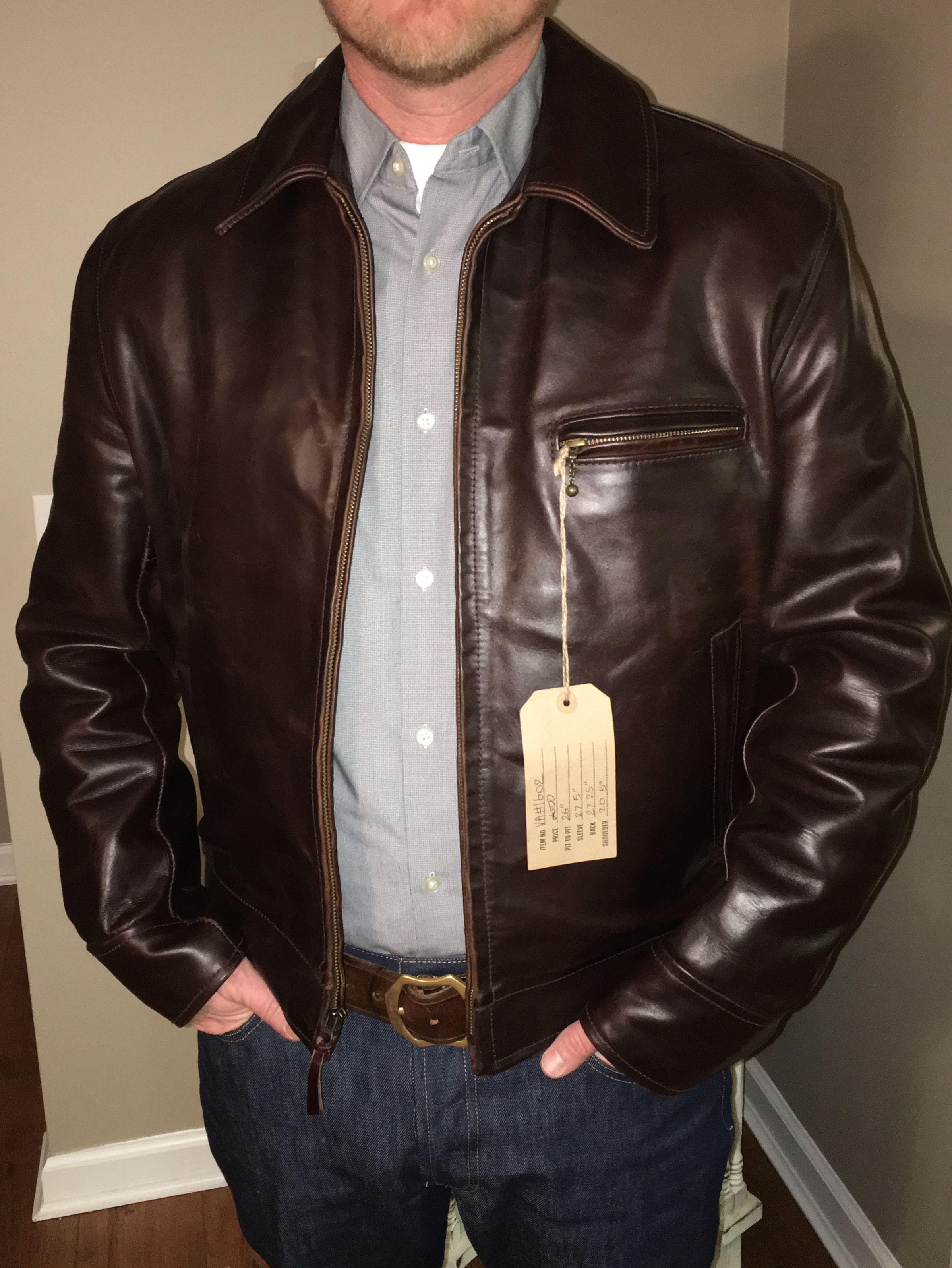 Aero Highwayman Leather jacket outfits, Leather jacket