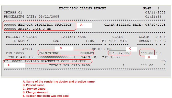 Instructions On Reading An Edi Report From Healthcareisbusiness