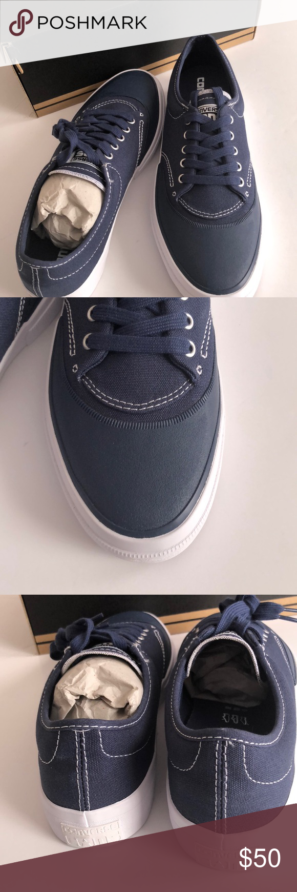 af8171a5c281 Converse Skateboard Shoes Crimson canvas OX navy Converse Skateboard Shoes.  Style    153464C Style