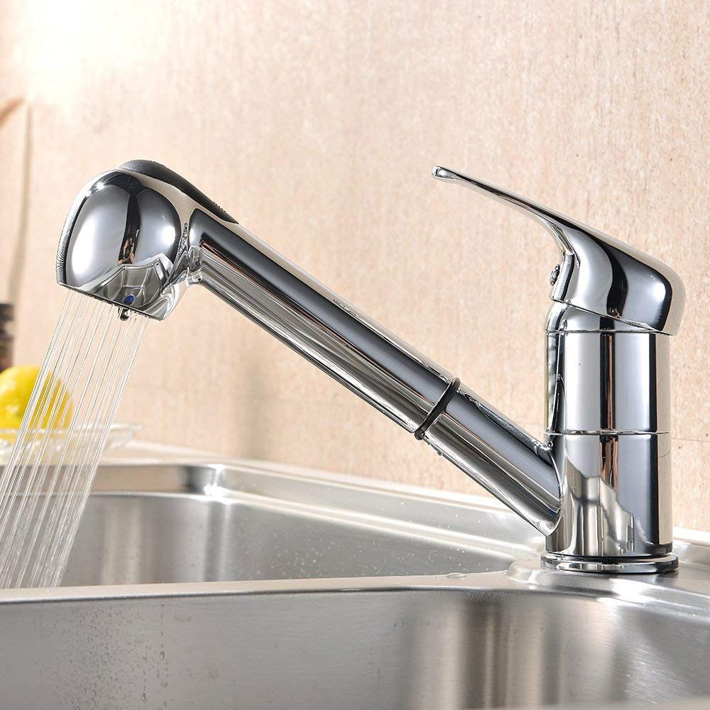 VAPSINT Modern Kitchen Sink Pull Out Mixer Tap Amazon.co