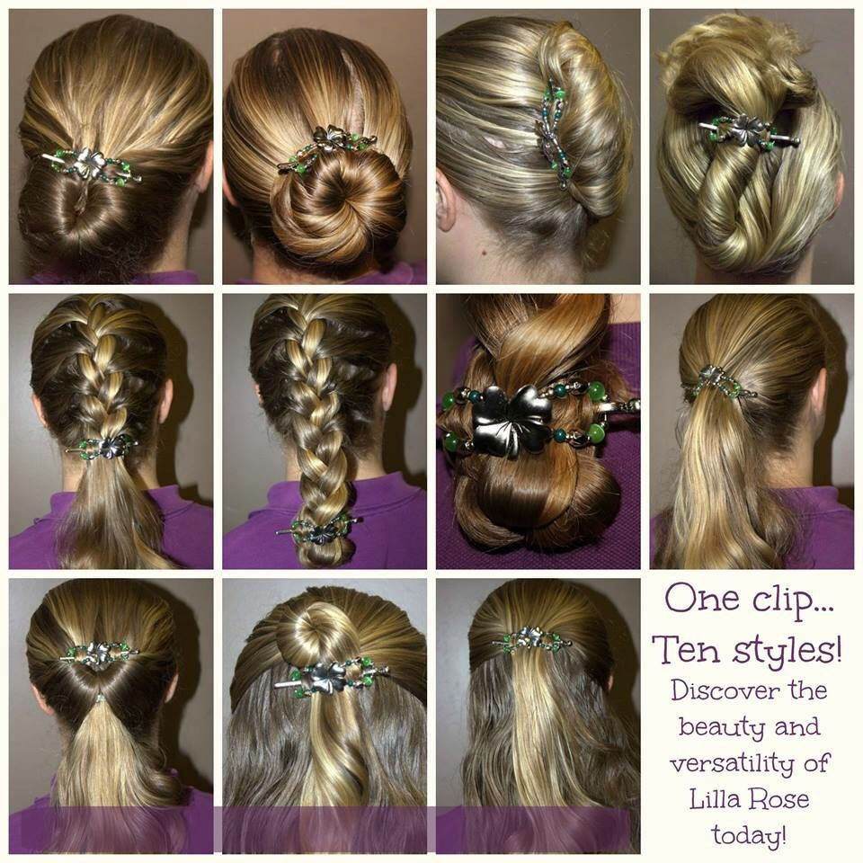 Different Hairstyles Ten Different Hairstyles With The Same Clip Discover The