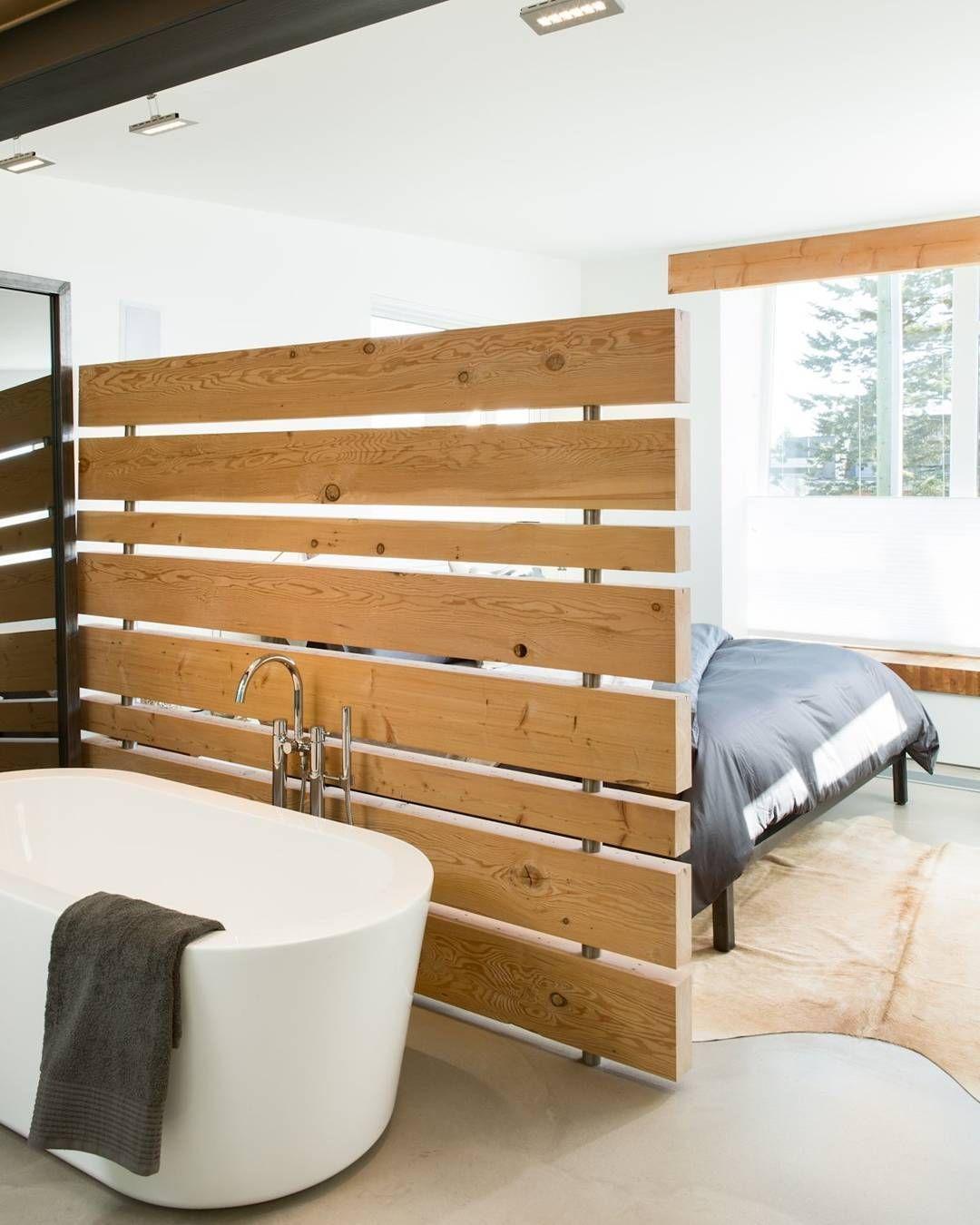 Paravent Interieur Inspiration Chambre Salle De Bain Cloison Et Chambre A Coucher Originale