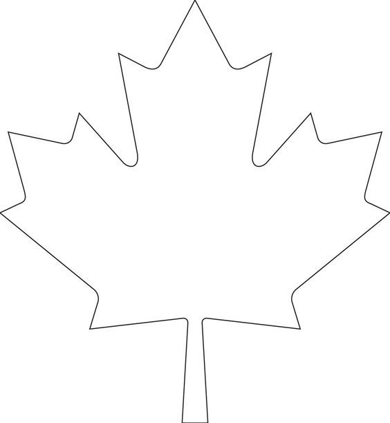 Downloadable Maple Leaf Template For Your Canada Day Crafts Canadian Living Canada Day Crafts Maple Leaf Template Leaf Template