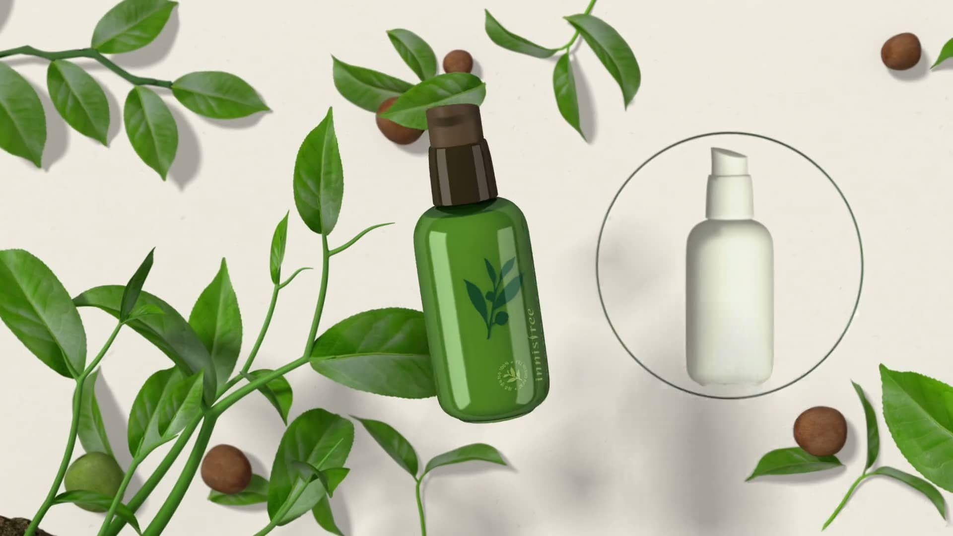 innisfree Green Tea Seed Serum infographic Movie (English ver.) on ...