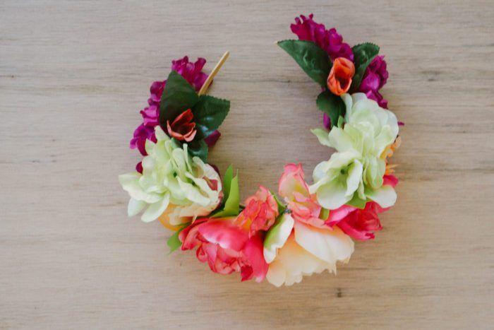 Diy Faux Flower Crown Eight Pepperberries Flower Headband Diy Diy Flower Crown Headband Diy Flower Crown