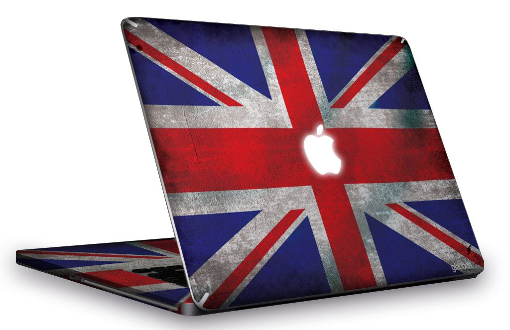 skin macbook pro british flag glaubenskins via. Black Bedroom Furniture Sets. Home Design Ideas